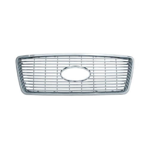 Bully  GI-20 Triple Chrome Plated ABS Snap-in Honeycomb Imposter Grille Overlay, 1 Piece (Bully Imposter Grille)