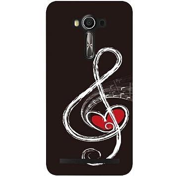 casotec Love Nota Musical Diseño Carcasa para Asus Zenfone 2 ...