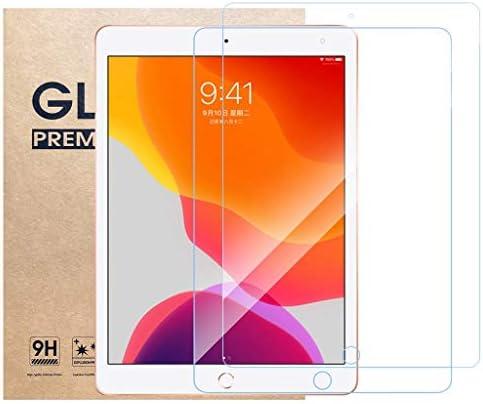 [해외]CompatibleApple iPad 10.2 Screen Protector [2 Pack] Ultra-Thin 2.5D 9H Anti Scratch Bubble Free Hardness Crystal HD Clear Scratch Resistant Tempered Glass Film ASTVSHOP (10.2 inch (2pcs) clear) / CompatibleApple iPad 10.2 Screen Pr...