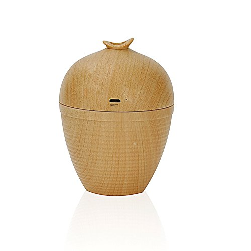 Wish Bottle Shaped USB Mini Portable Wood Grain Air Humidifier for Home Office Car by YTQ (Image #4)