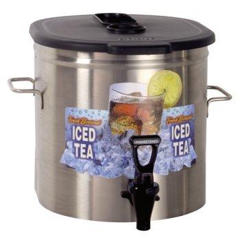 Bunn Tea Dispenser (BUNN Oval Iced Tea Dispenser with Side Handles)