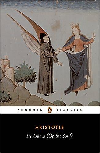 De Anima (On the Soul) (Penguin Classics)