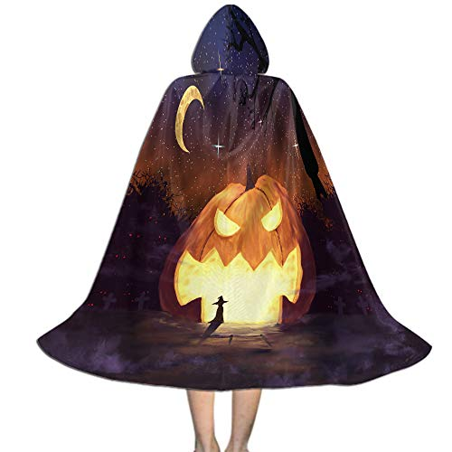 Halloween Costumes Cape for Kids, Role Play Costumes Halloween Decoration - L