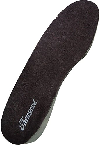 Thorogood Insoles Men Uniform Postal Super Cushion M Black ()