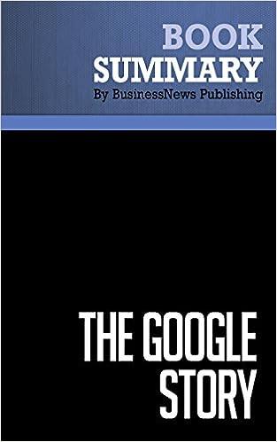 Summary: The Google Story - David Vise and Mark Malseed: