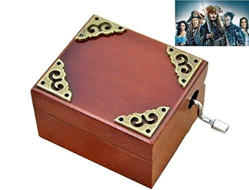 clásico Square manivela Caja de música: Davy Jone 's Tema (Banda Sonora)