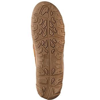 Rockport Men's Memory Foam Plush Suede Slip On Indooroutdoor Moccasin Slipper Shoe 2