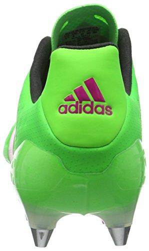 Botas para SG 1 Rosimp Verde fútbol 16 Ace Hombre Rosa Adidas Versol Negro de Negbas nOwI0tx