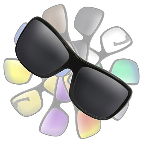 Black (Dark Grey) Replacement Lenses for Von Zipper - Zorg Sunglasses