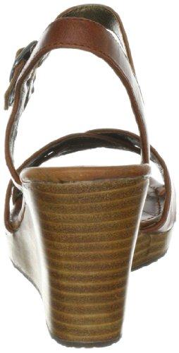 Sebago GREENWICH CROSS B44500 Damen Pumps Braun (BROWN OILED WAXY)