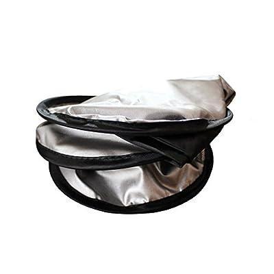 MonkeyJack Sun Shade Rear Car Windshield Visor Block Window Foldable Auto Cover