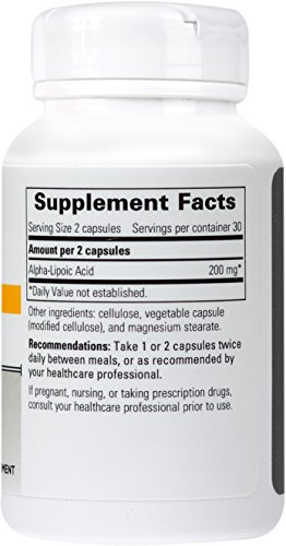 Integrative Therapeutics - Lipoic Acid - Antioxidant Support Supplement - 60 Capsules Discount