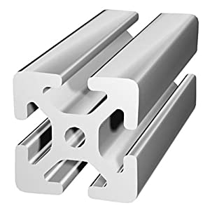 80/20 Inc., 40-4040, 40 Series, 40mm x 40mm T-Slotted Extrusion x 2440mm by 80/20 Inc.