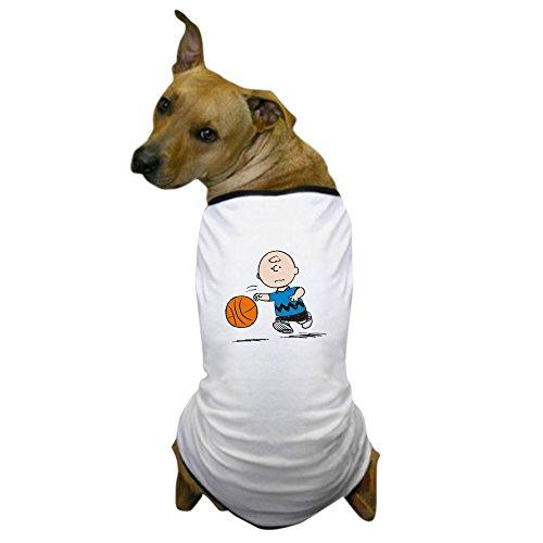 CafePress - Basketballer Brown - Dog T-Shirt, Pet Clothing, Funny Dog Costume ()