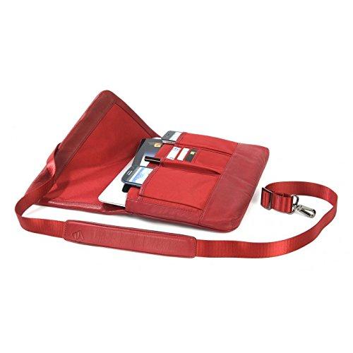 One Valigetta Premium Tucano ventiquattrore Tucano Rosso Rosso 11