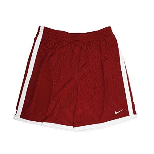 Nike Dri-FIT Men's Maroon/White Basketball Shorts - Medium