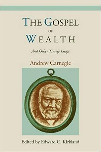 the gospel of wealth and other timely essays andrew carnegie  the gospel of wealth and other timely essays andrew carnegie 9781578989867 com books