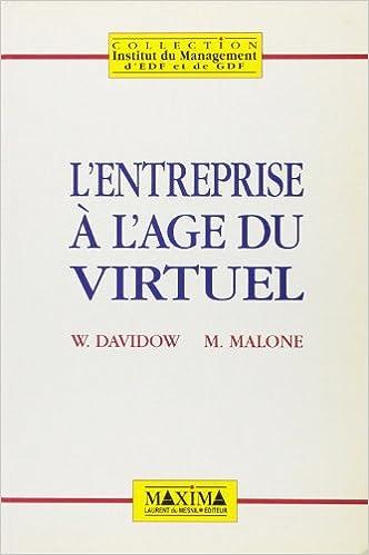 Lire en ligne L'Entreprise à l'âge du virtuel pdf