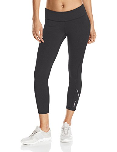 HEAD Women's Run Free Crop, Black, X-Small