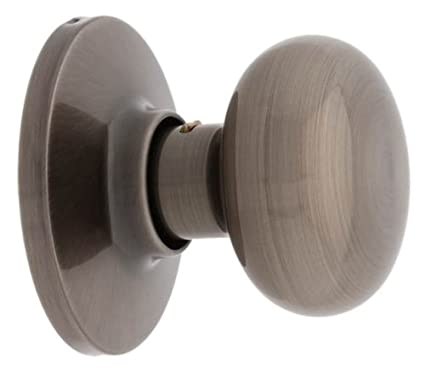 MaxGrade 400WAT15A Watson Single Dummy Door Knob, Antique Nickel