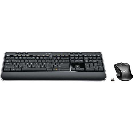 Logitech - MK530 Advanced Wireless Keyboard and Optical Mouse
