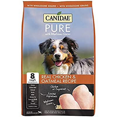CANIDAE Pure Real Chicken & Oatmeal Recipe Dry Dog Food