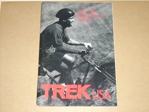 1992 trek usa all terrain bicycle owner s manual with multitrack rh amazon com trek bicycle owner's manual pdf Best Trek Bike for Women
