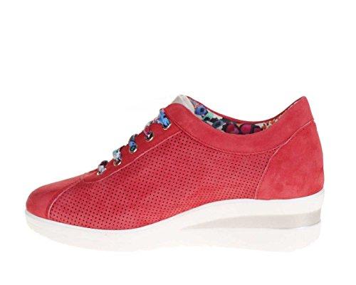 Corallo Sneaker Scarpa Zeppa R2179 Corallo RUCOLINE Donna MELLUSO Tipo pzwCBqa