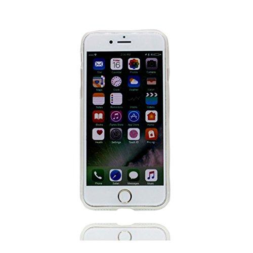 iPhone 6S Plus Copertura,iPhone 6 Plus Custodia,Ultra copertina protettiva del fumetto della pelle TPU del gel di silicone molle eccellente sottile di cristallo TPU case per il iPhone 6 Plus/ 6S Plus,