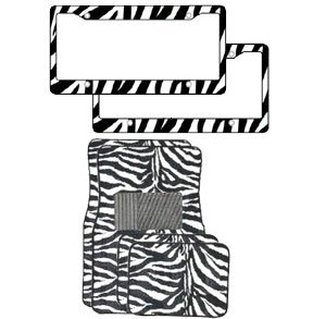 white and black car floor mats - 8
