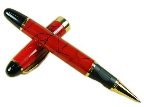 Chinese Lacquer Roller - Amyove Pen Jinhao 450 Roller Ball Pen Chinese Red Lacquer Black Line