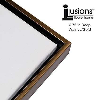 fd4a03d161f3 Amazon.com  Illusions Floater Canvas Frame for Mounting Finished Canvas  Artwork