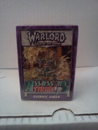 Warlord Saga of the Storm Assassin's Strike Clerics' Guild by Warlord CCG