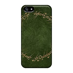 Slim Fit Tpu Protector Shock Absorbent Bumper Lord Of The Rings Case For Iphone 5/5s
