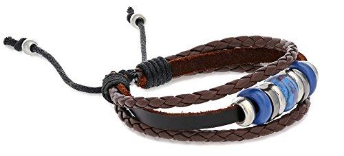 Fashion Leather Adjustable Bracelet Charms