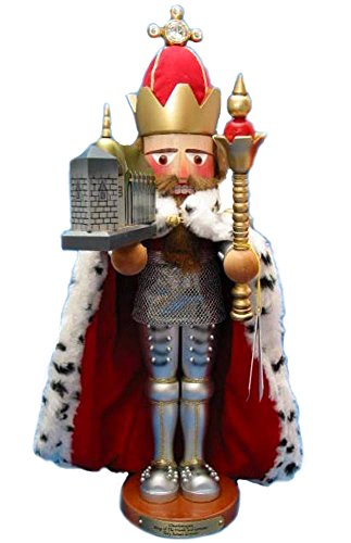 Retired Adler Exclusive Limited Edition Signed Late Herr Christian Steinbach *Charlemagne* Nutcracker by Kurt Adler