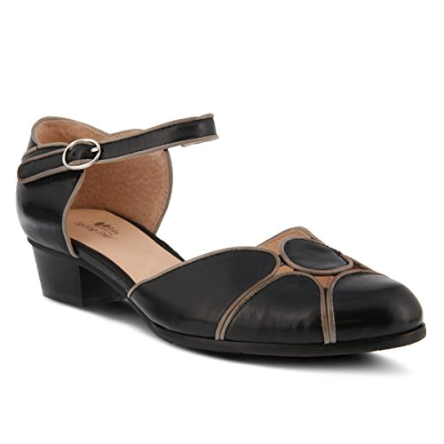 Spring Step Womens Style Lenna Leather Mary Jane Shoe Black 87DCuIGjL