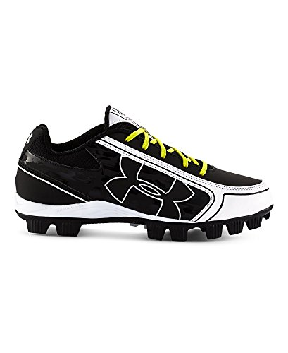 Under Armour Womens UA Glyde RM Softball Cleat Black/White