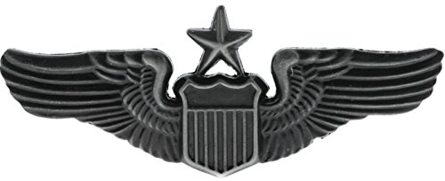 Air Force Senior Pilot Wings (pewter) Hat or Lapel Pin Hon16062