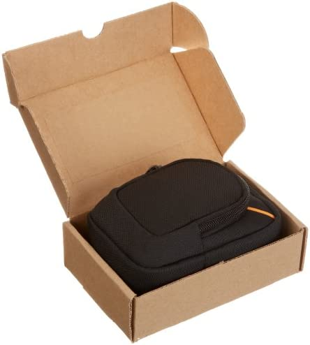 AmazonBasics Large Point and Shoot Camera Case – 6 x 4 x 2 Inches, Black 41K8xQ9RKuL