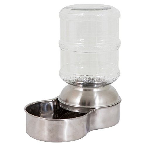 Petmate-Stainless-Steel-Replendish-Waterer-Small