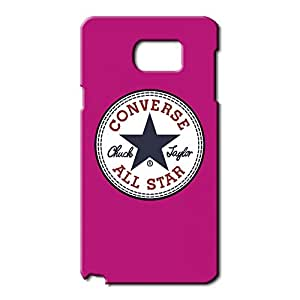 Unique Style 3D Hard plastic Converse All Star Chuck Taylor Phone Case Cover for Samsung Galaxy Note 5 Black Hard Case_Pink