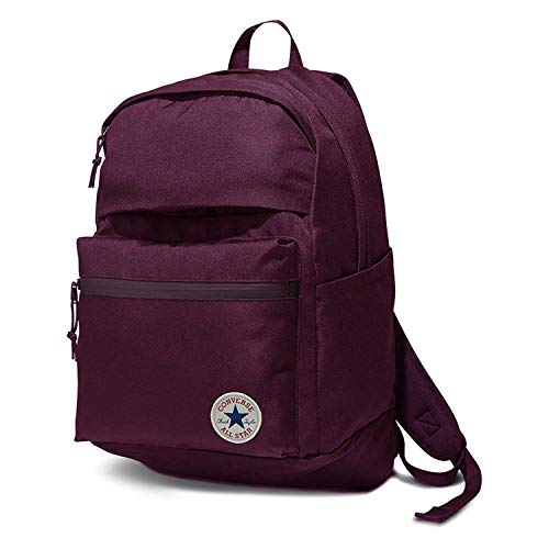 Converse Poly Chuck Taylor Plus 1.0 Patch Backpack-Burgundy