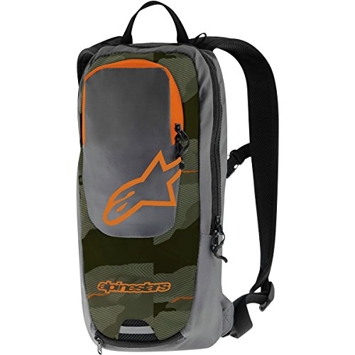 Alpinestars Sprint Back Pack, One Size, Militay Gray Ochre (Alpinestars Backpack)