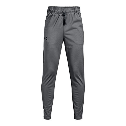 Under Armour Brawler Tapered Pants, Graphite/Black, Youth Large -