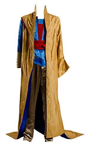 Thor 3 Ragnarok Grandmaster En DWI Gast Cosplay Costume Outfit Robe Cloak Suit,Large