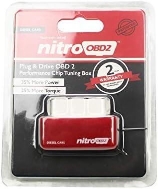 Gzh Nitro Obd2 Leistung Chip Tuning Box Dieselregler Plug Drive Obd 2 35 Mehr Leistung 25 Mehr Drehmoment Kraftstoffoptimierung Color Red Diesel Car Auto