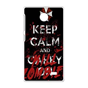 keep calm and kill?zombies Phone Case for Nokia Lumia X