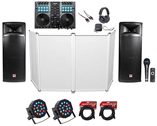 DJ Package w/Gemini Controller+(2) Dual 15