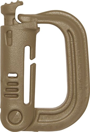 Maxpedition Gear GRMLG Foilage Green Grimloc Locking D-Ring (Pack of 4)